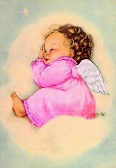 🌟Tante S!fr@ loves this📌🌟 Angel Images, Angel Pictures, Share Pictures, Cute Pictures, Vintage Greeting Cards, Vintage Christmas Cards, Angel Illustration, Idda Van Munster, Animated Gifs
