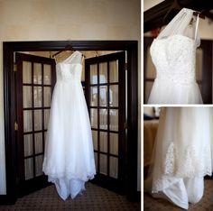 Joffrey-Ballet-Wedding-Photo-Chicago-Downtown-Wedding_006 one shoulder wedding dress