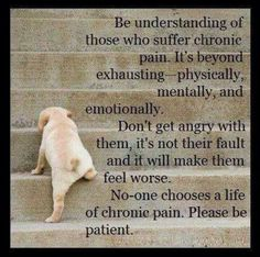 Chronic pain.. @Jawad Mian Raza I get u