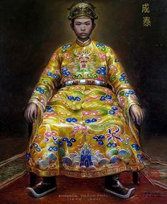 THÀNH THÁI - Chân Dung Các Vua Triều Nguyễn