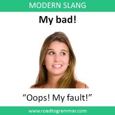 Slang English, English Phrases, English Idioms, English Lessons, Interesting English Words, Learn English Words, Learn English Grammar, English Learning Spoken, English Language Learning