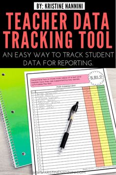 Walking Through Standards Based Grading: Part 3 and a Teacher Data Tracking Tool Click through to see how you can track and organize your and grade students' learning all year long. Great for the upper elementary teacher. Teacher Organization, Teacher Tools, Teacher Hacks, Teacher Resources, Teacher Binder, Student Teacher, Classroom Resources, School Teacher, 5th Grade Classroom
