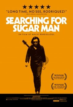 Searching for Sugar Man (DVD). A finales de los años 60, Rodríguez, un misterioso músico, fue descubierto en un bar de Detroit por dos productores que quedaron fascinados por sus melodías conmovedoras y sus letras proféticas. Grabaron dos discos con la convicción de que el artista se convertiría en uno de los más grandes de su generación. Sin embargo, el éxito nunca llegó, y el cantante desapareció en medio de rumores sobre su suicidio en un escenario.