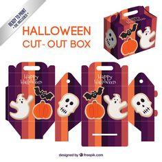 Scatolina di Halloween da stampare e costruire n. 7