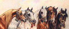 Painting of Arabians