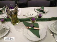 Tischdekoration vom 80. Geburtstag | infopostanne - Kreativ mit Stempel