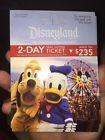 #Ticket  Disneyland 2-day Park Hopper Tickets #deals_us