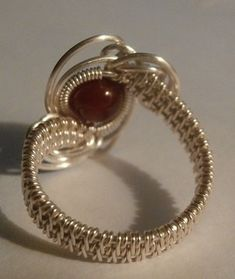 TUTORIAL Wire Wrapped Ring The Galaxy Ring Advanced Wire