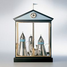 architects design silver tea service - Google Search Michael Graves' Kettle for Alessi
