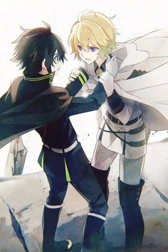 Tension••• Owari no Seraph Seraph of the End|| #SeraphOfTheEnd #MikaYuu | Mikaela Hyakuya + Yuichiro #anime