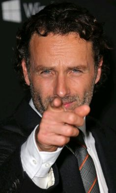 """Andrew Lincoln. (The Walking Dead etc etc) * """"Who, me?"""" """"Yes, you, girl."""""""