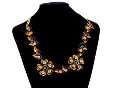 Glamorous Old Hollywood inspired necklace from my Couture line. #jewelry #fashion #vintage #vestigejewelry