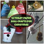 toilet paper roll craft for christmas - Bing images Recycled Christmas Gifts, Recycled Christmas Decorations, Christmas Angel Crafts, Homemade Christmas Crafts, Easy Christmas Ornaments, Kids Christmas, Holiday Crafts, Christmas Cards, Diy Ornaments