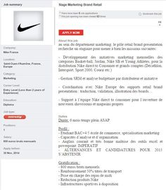 Nike Stage Marketing Brand Retail