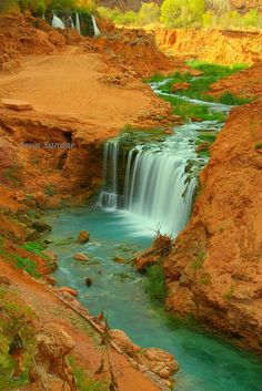 New Navajo Falls, Supai, Arizona