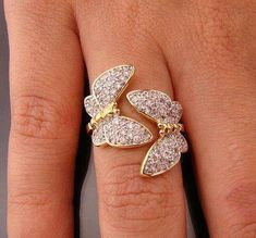 Butterflies - would love to have this ring!
