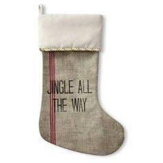 Kavka Designs Jingle All The Way Holiday Stocking