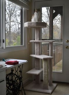 Cat trees you can make yourself!
