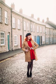 Outfit: Classic Camel Coat - A Clothes Horse