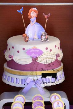 Sofia the First Princess Party via Kara's Party Ideas #PrincessParty #SofiaTheFirst #PartyIdeas (21)