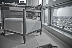 #City living: #room details in a guest room at the  #Trump Soho