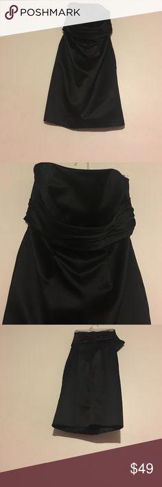ABS Collection black dress size 8 Gorgeous black dress, 100% polyester ABS Allen Schwartz Dresses Strapless