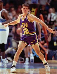 John Stockton, Utah Jazz, Basketball Players, 1990s, Sports, Hs Sports, Sport