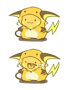 Mini Chibi Raichu Adventures 67 (Pokemon)