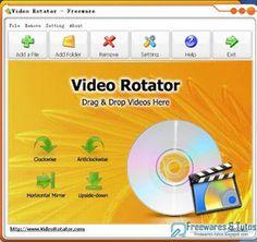 Video Rotator : un logiciel gratuit pour faire pivoter les vidéos