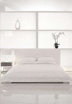 white on white interior design bedroom