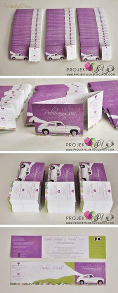 Zaproszenia ślubne - POBIERAMY SIĘ!:)