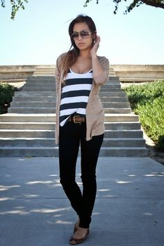 Camiseta de rayas | Cuidar de tu belleza es facilisimo.com