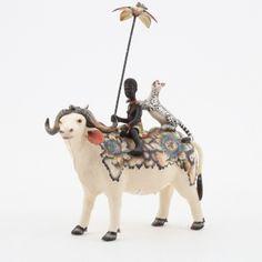 Ardmore Ceramics: Buffalo Rider AAA
