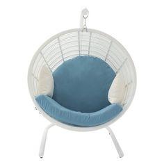 UMA Enterprises 48 in. Pod Chair - White - 70687