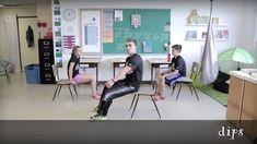 Bouge en classe avec Jeunes en santé# 5 Zumba, Coaching, Core French, School Health, Brain Gym, Self Regulation, Brain Breaks, Teaching French, Exercise For Kids