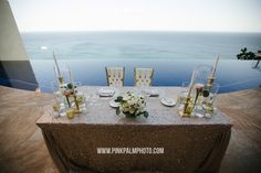 Los Cabos Wedding Planners, Creative Destination Events is more than just another Cabo wedding planning company. among the best wedding planners mexico Romantic Dinner For Two, Romantic Dinners, Let It Shine, Sweetheart Table, Table Settings, Wedding Day, Candles, Table Decorations, Bride