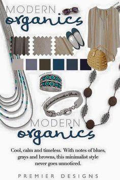 Modern organics! Premier Designs Spring 2016 Facebook.com/CiboloJewelryLady