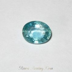 Oval Blusih Green Apatite 1.45 carat