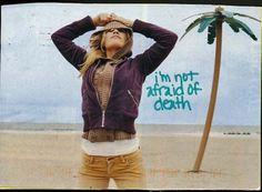 not afraid of death
