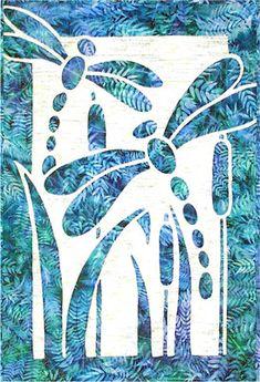 Dragonflies Flight Dragonfly Applique Pacific Rim Quilt Pattern on eBay!