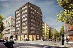 Stockholm & Projekt: Brofästet, del av Norra Djurgårdsstaden