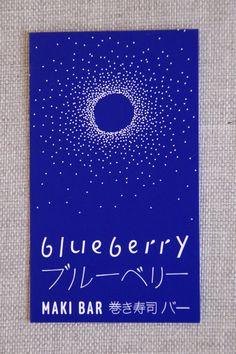 Blueberry Maki Bar - Paris