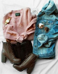 Get a grip distressed sweater mauve 59 Fashionable Looks You Will Definitely Want To Keep – Get a grip distressed sweater mauve Source Casual Fall Outfits, Winter Fashion Outfits, Fall Winter Outfits, Teen Fashion, Womens Fashion, Fashion Trends, Cheap Fashion, Pretty Outfits, Cute Outfits