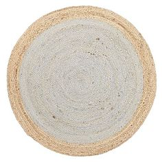 Capture Attention In Any Room With The Impressive Spot Design On Quality Tortuga Hemp Round Rugsdining Roomjutehempbays