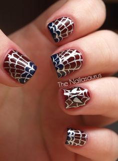 The Amazing Spiderman Nails