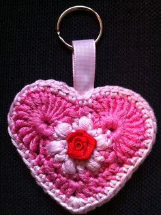 Crochet keychain.
