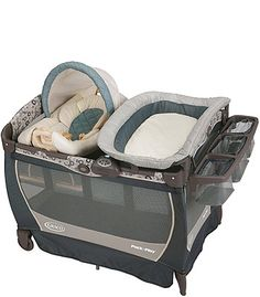 "Graco Pack 'n Play with Cuddle Cove LX Rocking Seat Play Yard - Brompton - Graco - Babies ""R"" Us"