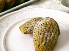 Matcha (Green Tea) Madeleines/ Печенье Мадлен с чаем матча