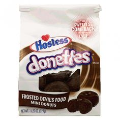 Hostess Donettes Frosted Devil's Food 11.25 OZ (319g)