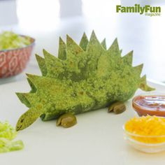 Tacosaurus: A dinnertime favorite disguised as a prehistoric reptile? Now that's a dino-mite meal!